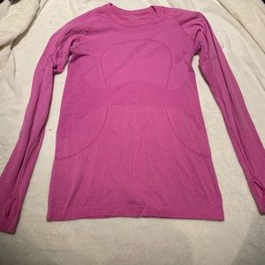Lululemon Swiftly Tech Long Sleeve Size 8 Pink